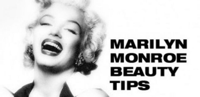 10 Dicas de beleza por monroe marilyn