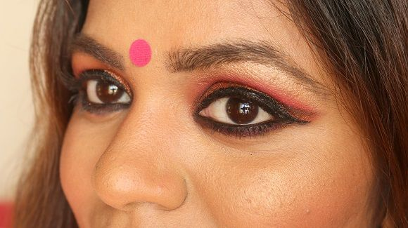 Karvachauth india maquiagem