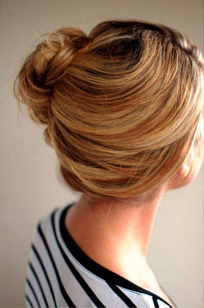Tutoriais penteado: updo fantástica para a semana