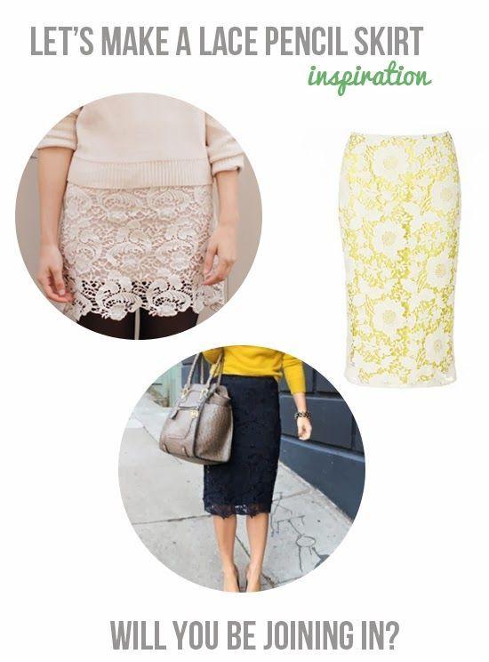 DIY Lace Skirt
