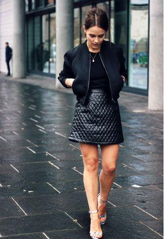 vestido preto para o inverno