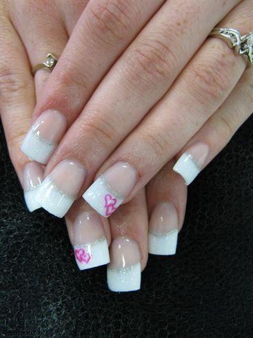 Nails forma do coração