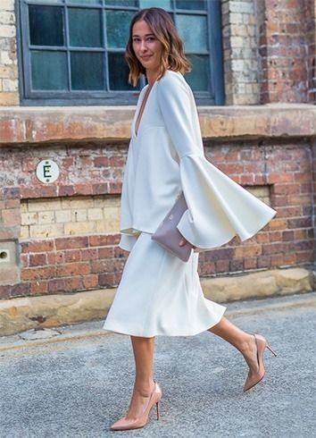 Vestido branco para o verão