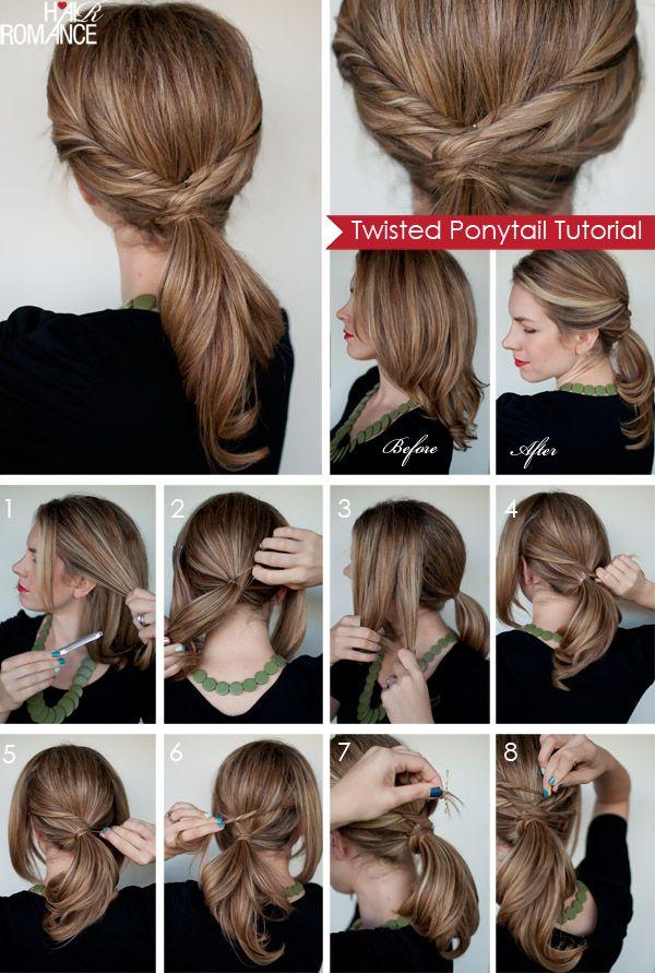 Penteados para cabelos longos: tutoriais de cabelo longo para 2014