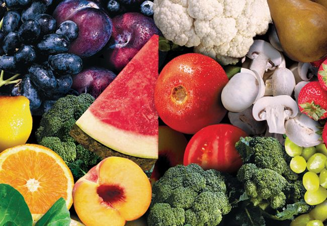 10 Alimentos saudáveis partido