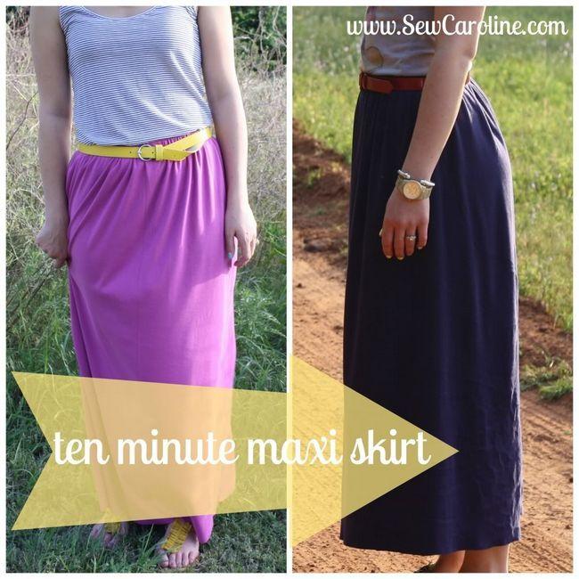 Ten Minute Maxi Skirt