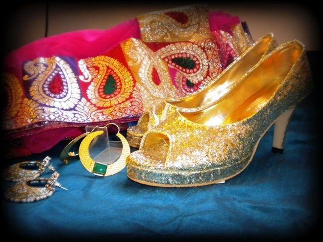 Sapatos enxoval de noiva