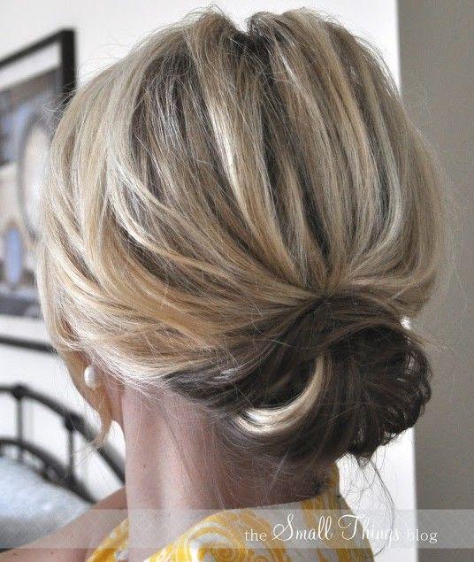 Curtas estilos de cabelo Up 2014