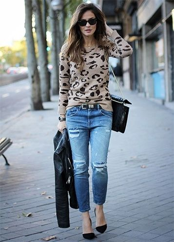 Como fazer afligido Jeans
