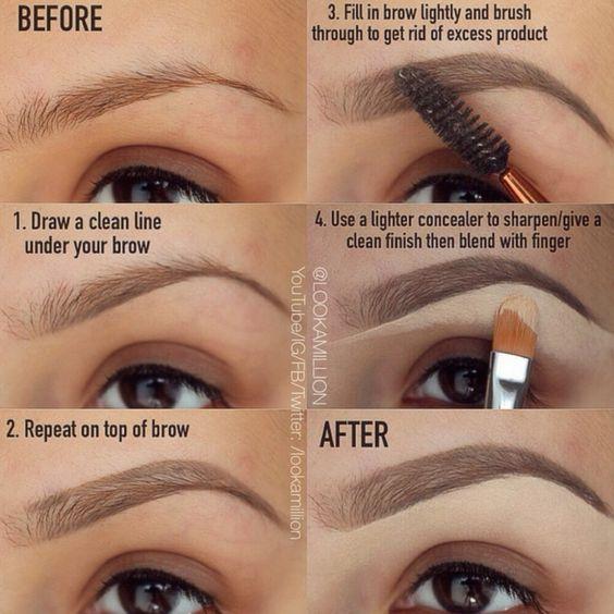 via sobrancelhas makeup-guia-for;