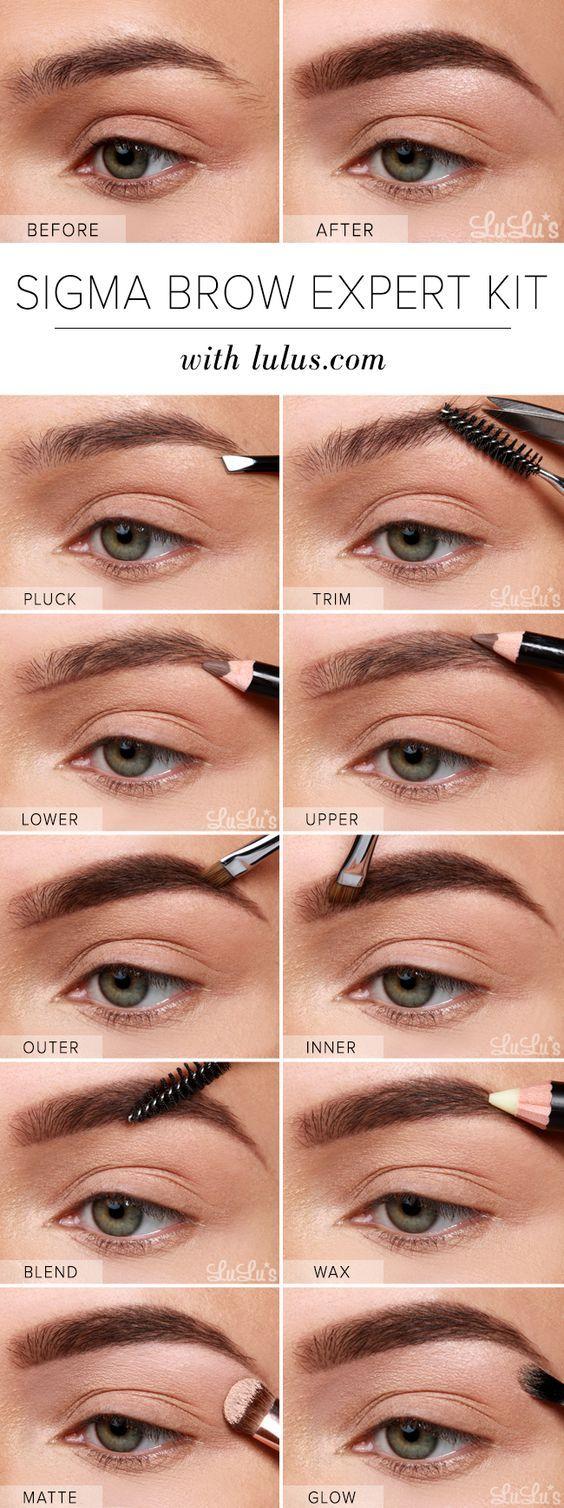 através de make-sobrancelhas perfeitas fácil-way-to;