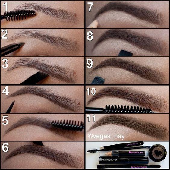 passos-para-pintura-sobrancelhas via