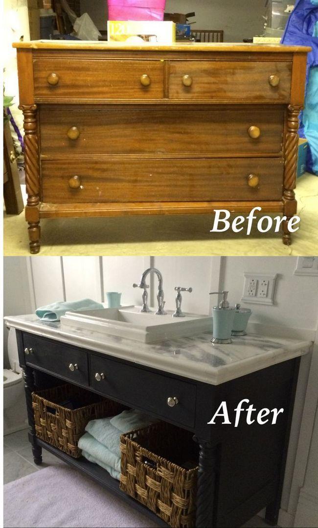 10 Maneiras de redecorar armários velhos