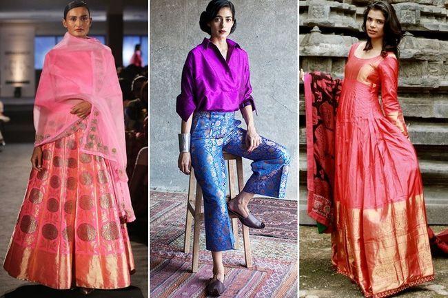 10 Maneiras de reutilizar e sedas de luxo e handlooms indianos para casa e moda