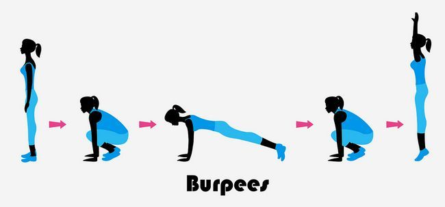 10 Benefícios maravilhosos de treino burpee para fortalecer seu corpo