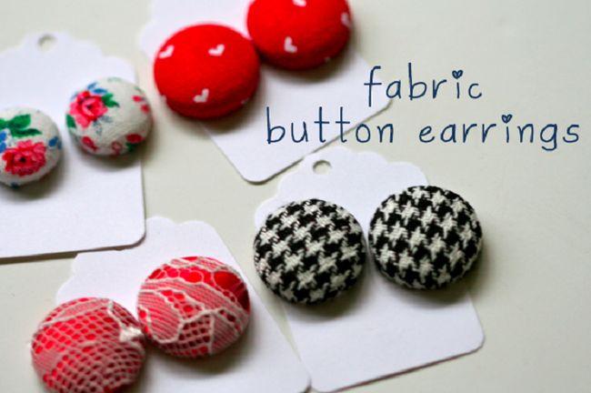 11 Fácil projectos botões de jóias diy: fazer jóias a partir de botões