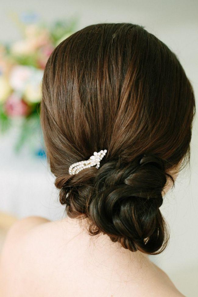Penteado do casamento trançado