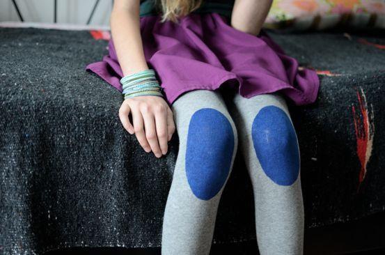 Leggings com Patches