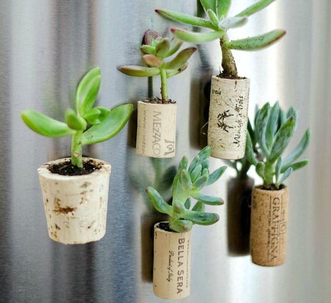 12 Projetos de diy: como reutilizar as rolhas de vinho