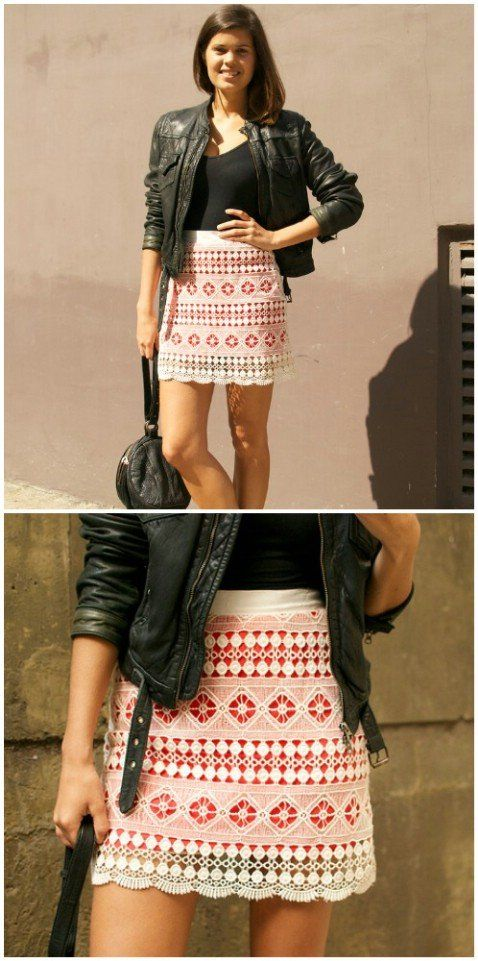 Consideravelmente Lace Skirt