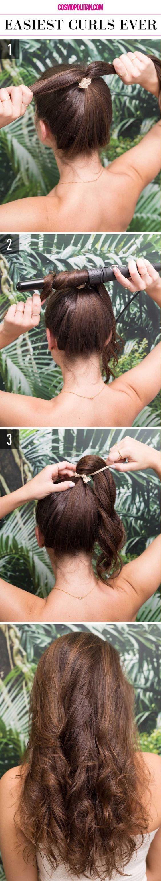 12 Penteados fáceis para qualquer e todas as meninas preguiçoso