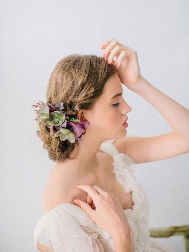 12 Penteados casamento romântico para o cabelo longo bonito