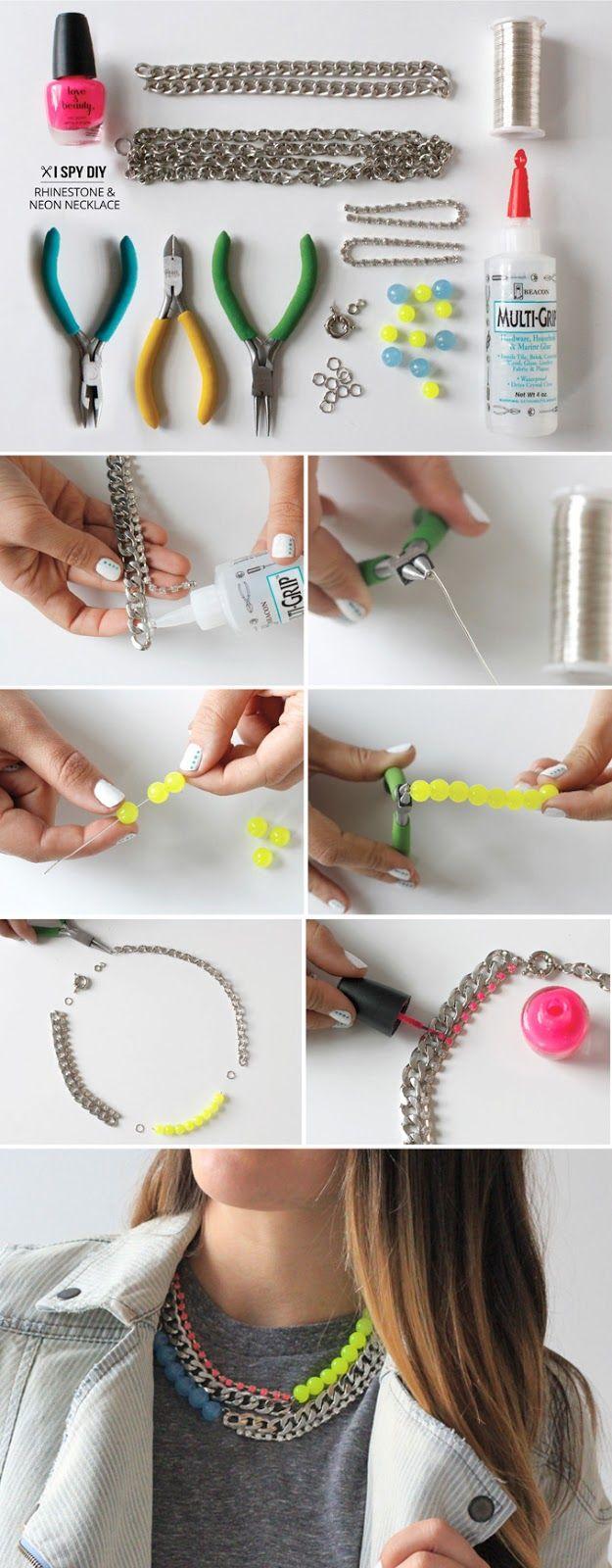 12 Maneiras de fazer incríveis artesanato jóias diy