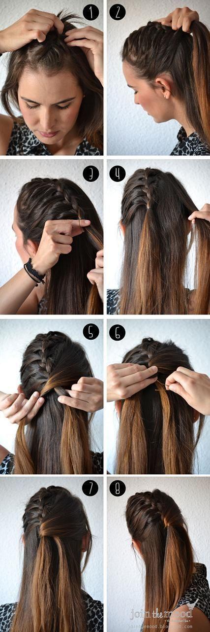 13 Tutoriais cabelo trançado