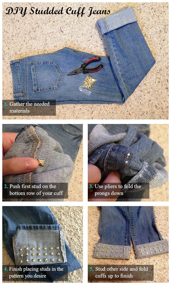 punhos DIY