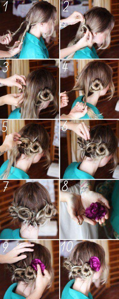 13 Tutoriais penteado fantásticos para damas
