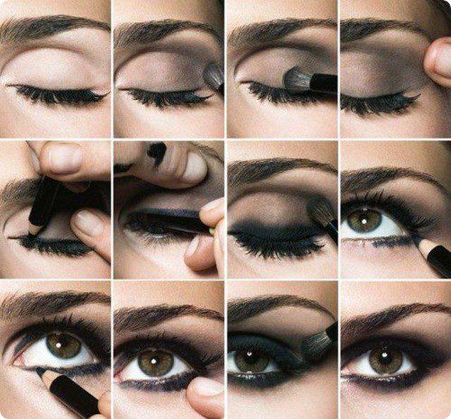 Chique gótico Smoky Eye Makeup Tutorial