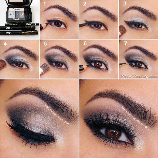 Cinza Smoky Eye Makeup Tutorial
