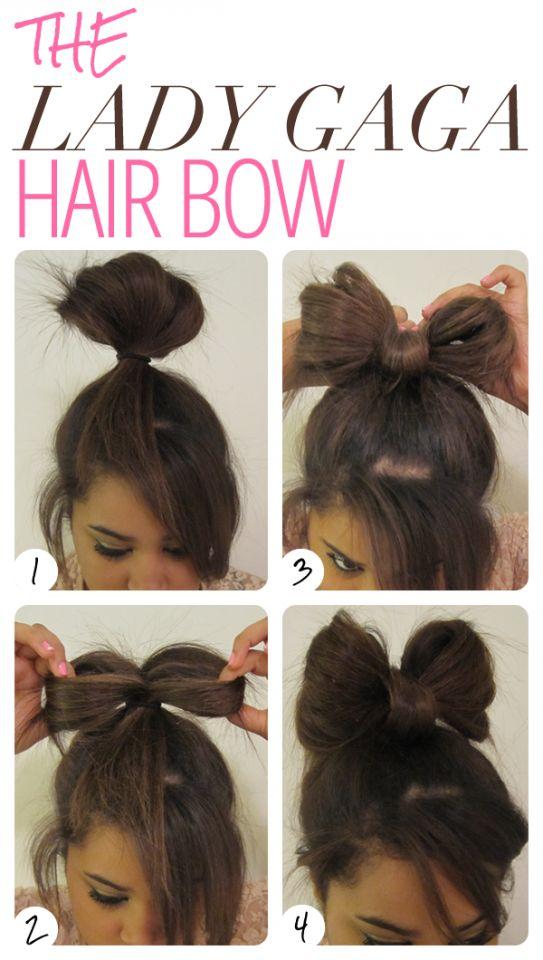 13 Tutoriais de cabelo para penteados arco