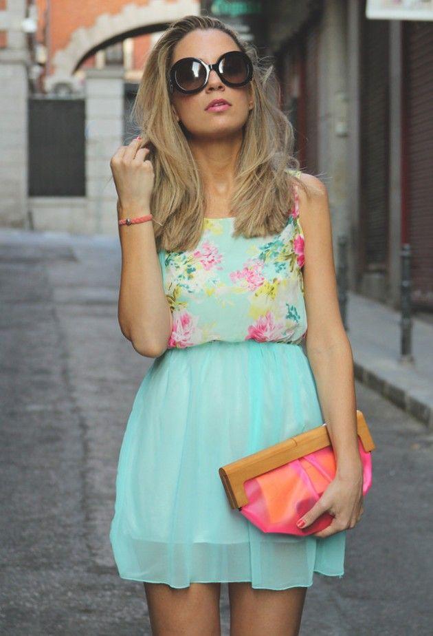Mint Idéias Outfit - Mint dia vestido