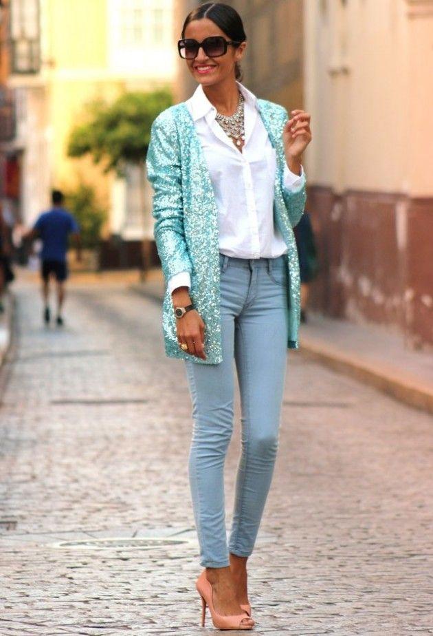 Mint Idéias Outfit - Mint Blazer