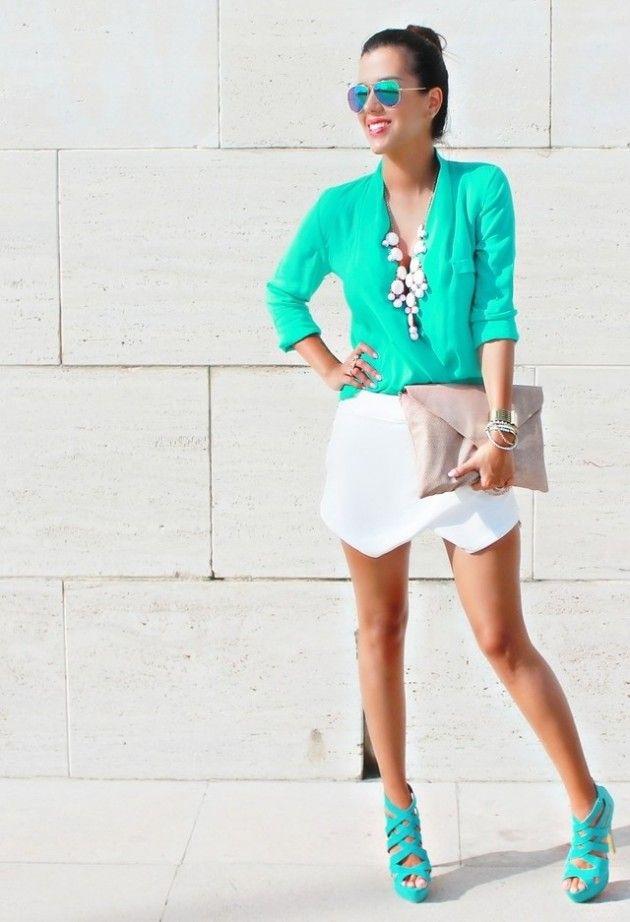 Mint Idéias Outfit - Mint Blusa