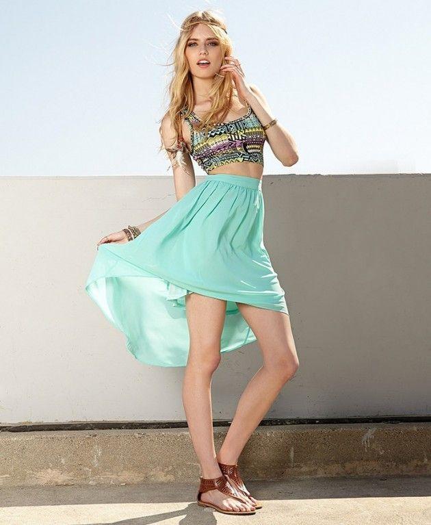 Mint Idéias Outfit - Mint vestido maxi
