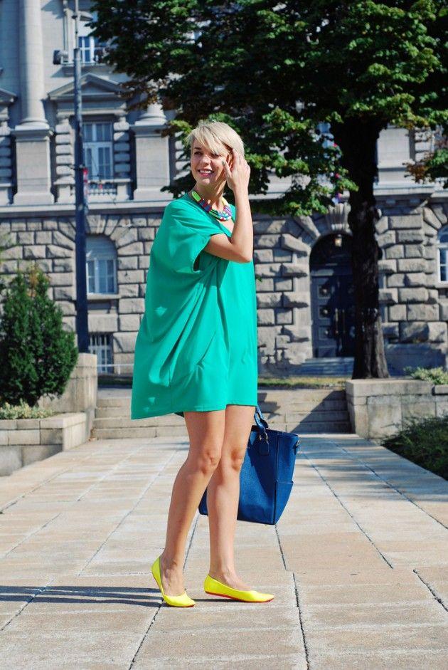 Mint Idéias Outfit - Mint vestido