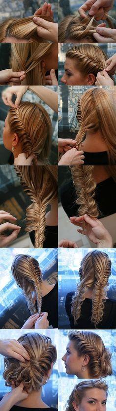 14 Incríveis penteados bun duplo trança