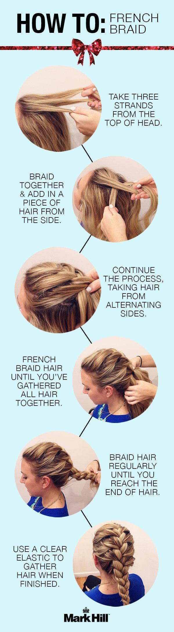 Penteados bonitos: tutoriais trança francesa
