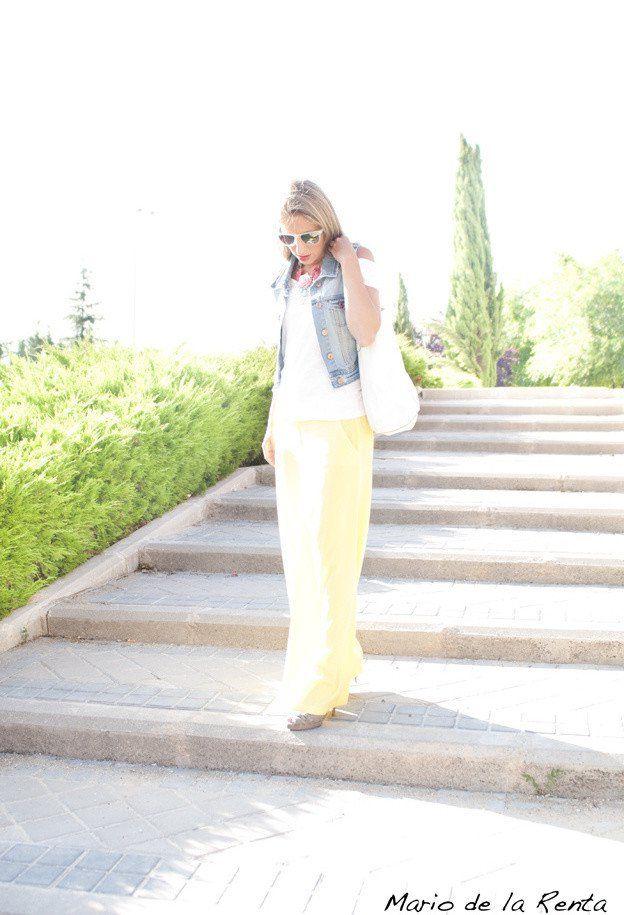 Idea Outfit feminino com Denim Vest