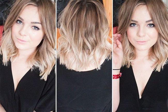 14 Penteados em camadas modernos para cabelos médios 2016