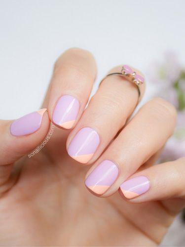 Nails dois tons