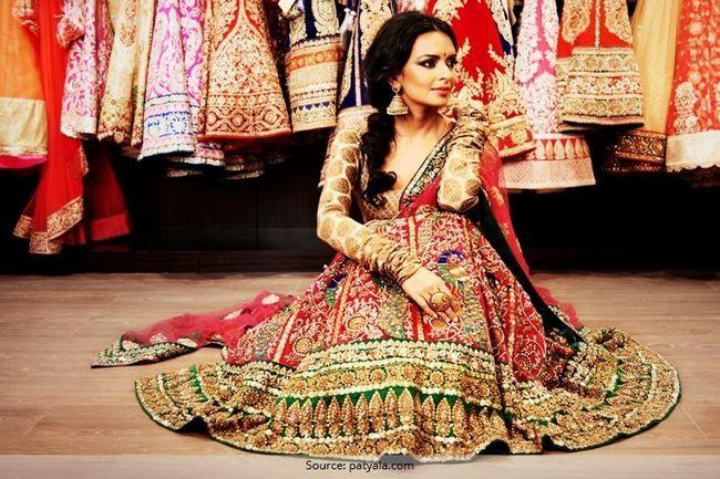 15 Melhores lehengas de noiva: festa para os olhos