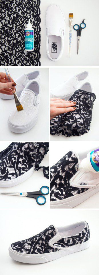 15 Ideias sneaker makeover diy para 2015 primavera