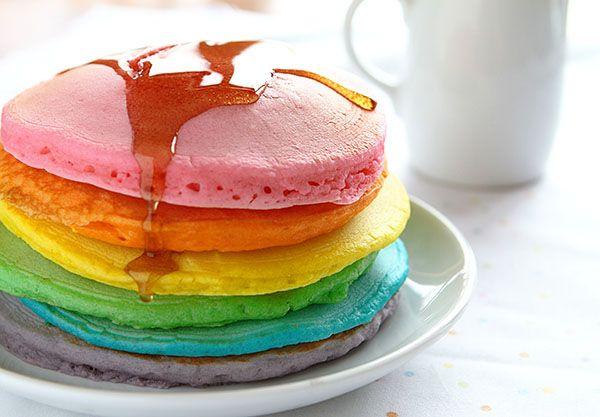 Arco-íris receitas que você pode fazer em casa