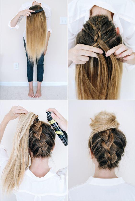 15 Fácil passo a passo tutoriais penteado