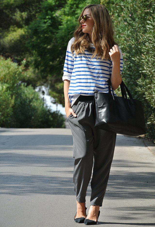 15 Ideias roupa da moda e confortáveis, com calças largas