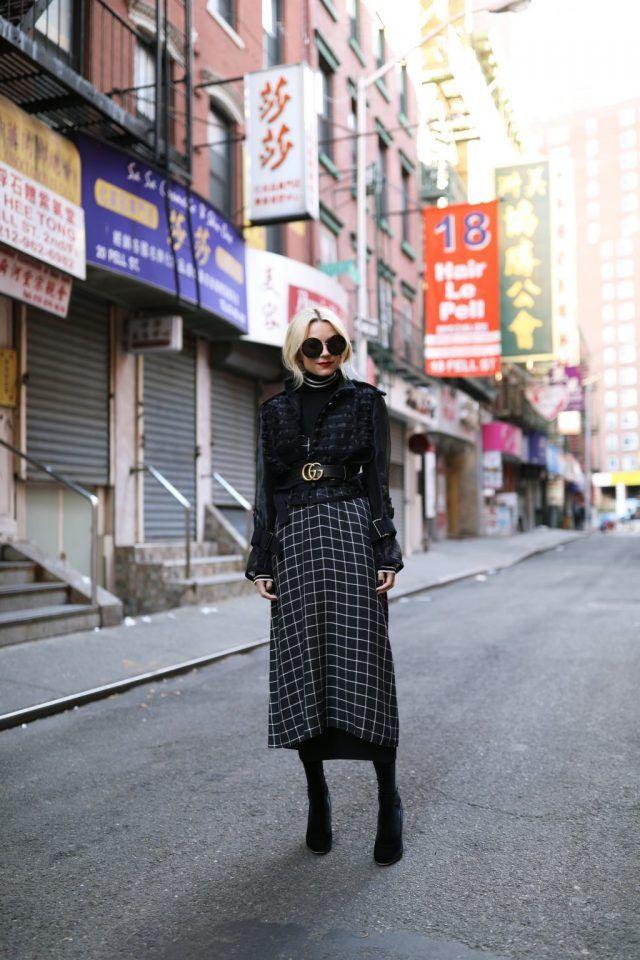 tartan-dress via