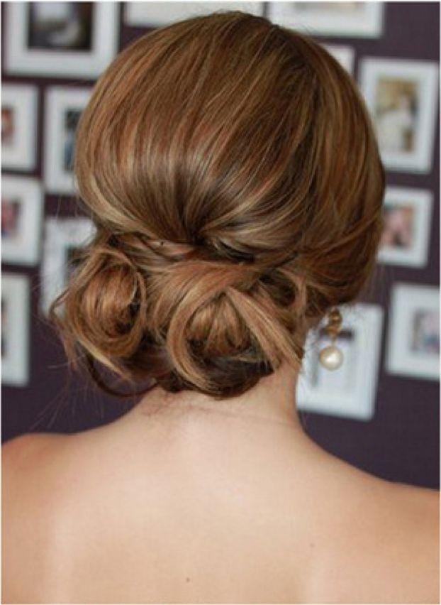 15 Penteados muito baixo bun para o verão